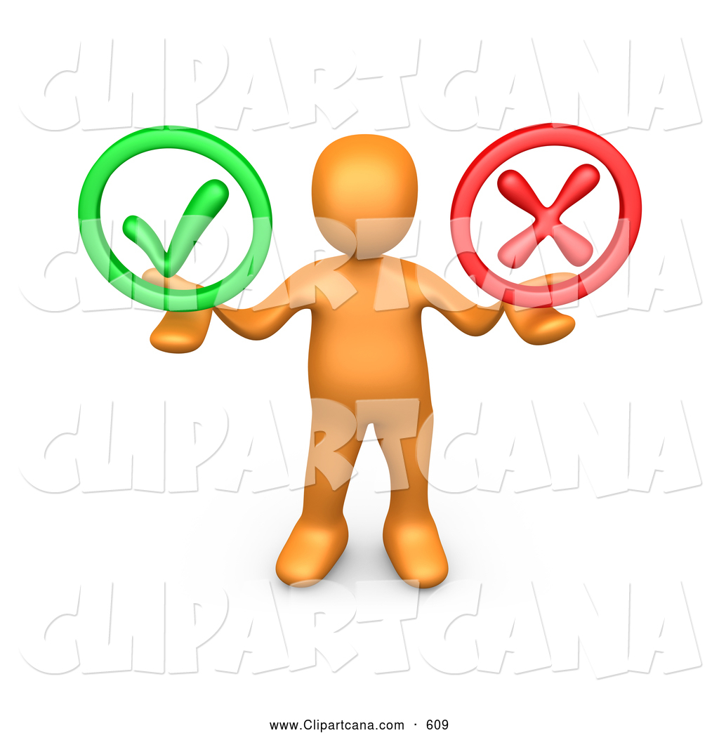 Other clipart friendly person Person Green Check His Holding