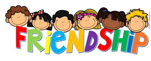 Other clipart friendship  Ruadhain Month each is