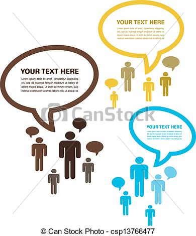 Other clipart group conversation Vector people people conversation; newtork