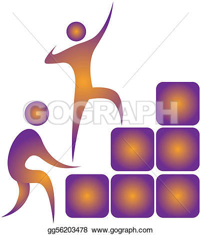Other clipart human The blocks each up up
