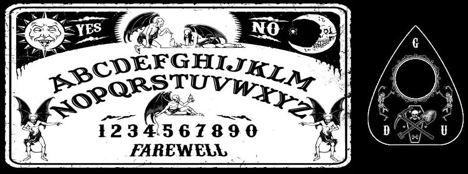 Ouija Board clipart Handmade Necrosuit Devil Handmade Ouija