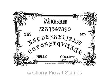 Ouija Board clipart Board STAMP on by Items