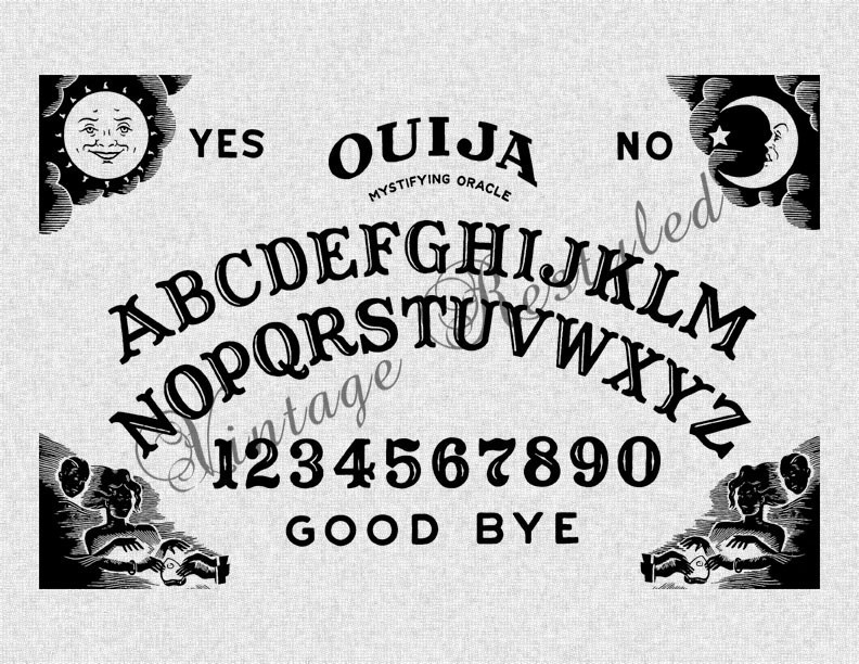 Ouija Board clipart 2015 Transfer Download Board This