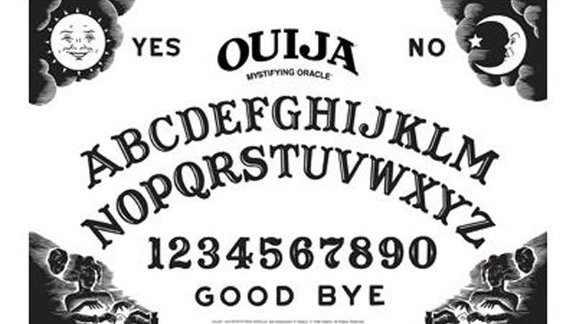 Ouija Board clipart Board and cold star moon