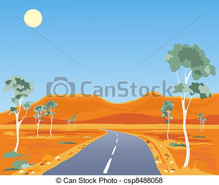 Outback clipart kangaroo Similar illustration  outback australian