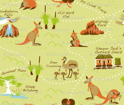 Cjldesigns Spoonflower Outback_map Outback_map fabric