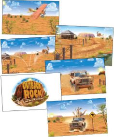 Outback clipart rock #3