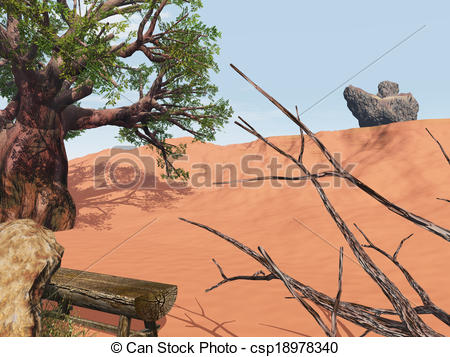 Outback clipart rock #11