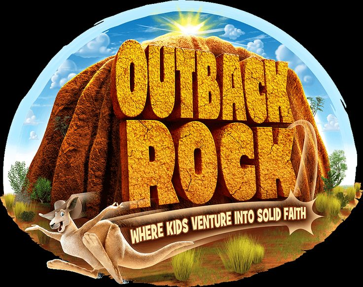 Outback clipart rock #10