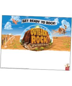 Outback clipart rock #9