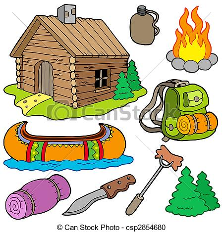 Outdoor clipart Objects of Collection  of