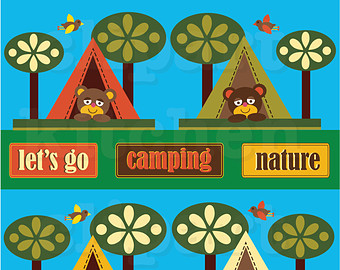 Outdoor clipart Bear Use Camping Outdoors Clip