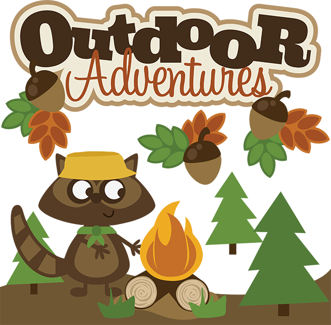 Outdoor clipart bonfire Kids scrapbook collection Outdoor SVG