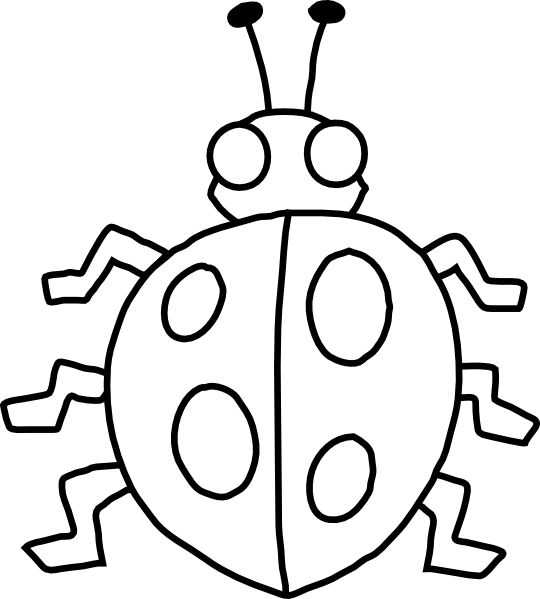 Beetle clipart black and white Art Black Clip White Thermometer