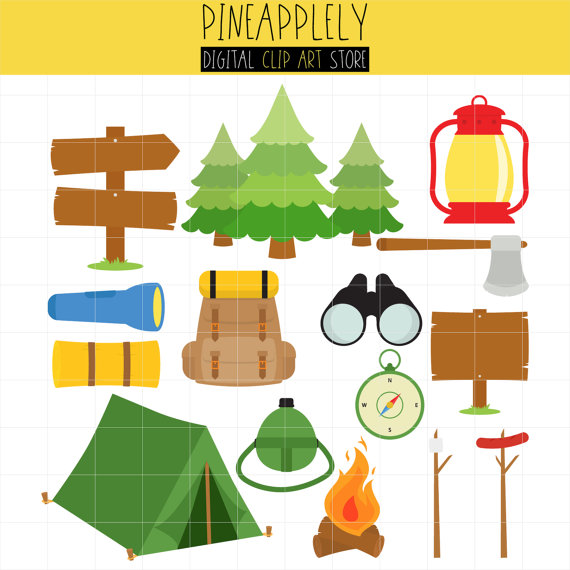 Outdoor clipart bonfire Bonfire Camping Outdoor Clip Camping