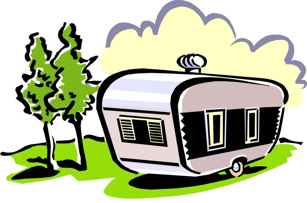 Outdoor clipart camper Camper cliparts Camper Clipart