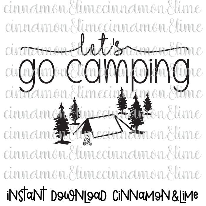 Outdoor clipart camper Svg Clipart file a Camper
