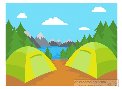 Outdoor clipart camper With Graphics Size: Art Kb