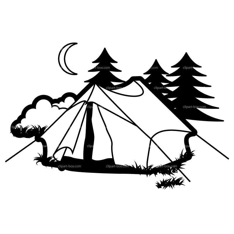 Outdoor clipart campground Clipart clipart Download Camp drawings