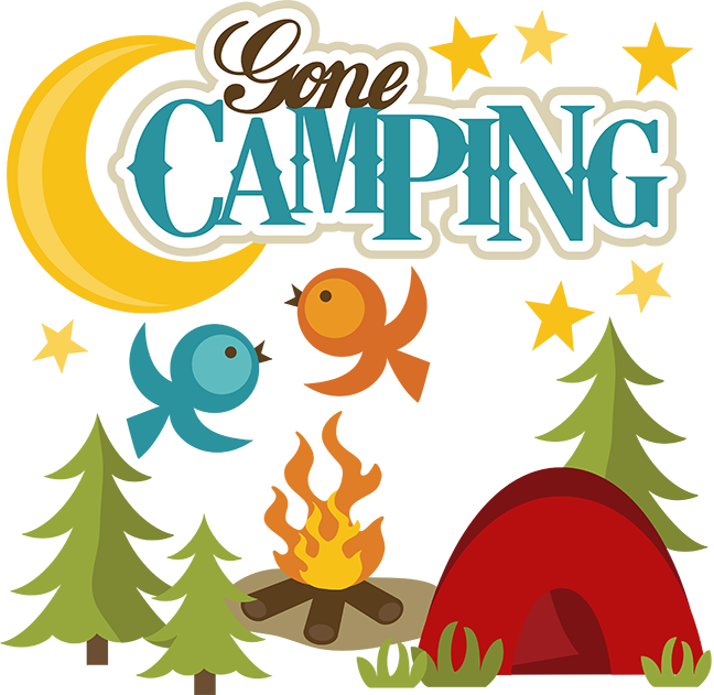 Outdoor clipart campground Clipart White svgs file free