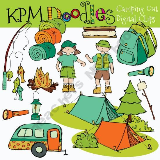 Outdoor clipart campground Best Out Camping Theme art