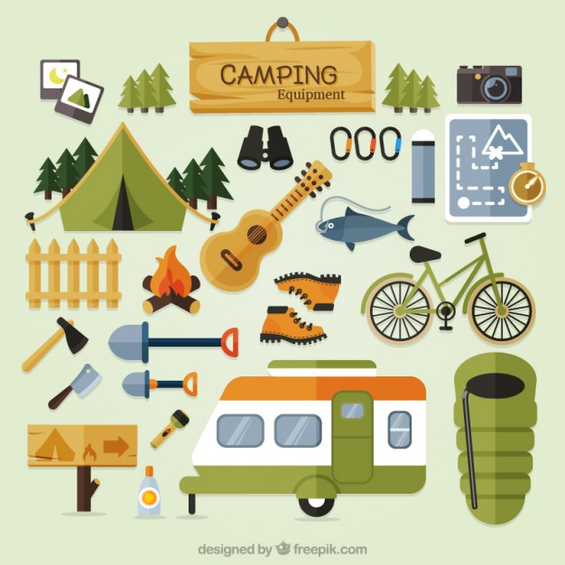 Hiking clipart camping gear By Pin Castro camping Anni