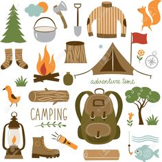 Outdoor clipart camping gear This Find Camping Accessories art