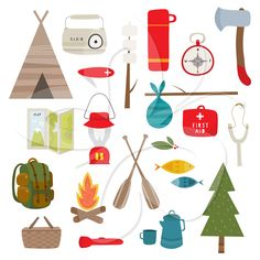 Outdoor clipart camping gear  this Find Camping Camping