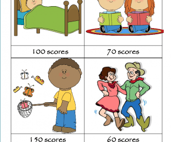 Outdoor clipart free time activity Worksheets Summer Activities FREE 102
