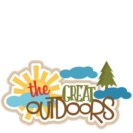 Outdoor clipart great outdoors Outdoors  cut The cute