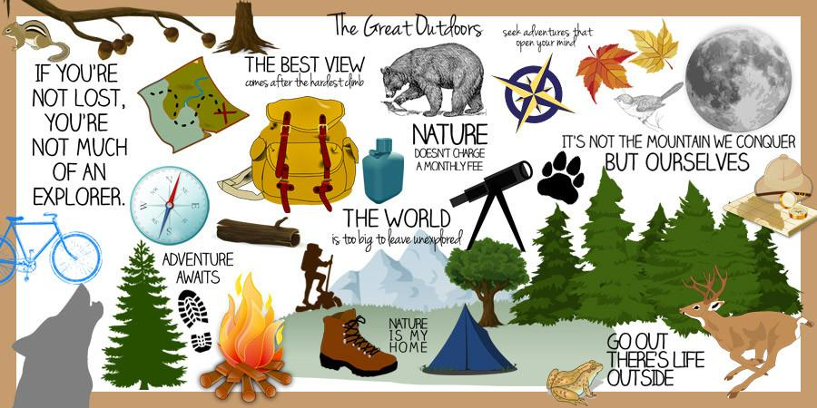 Outdoor clipart great outdoors Clipart ) Outdoors Great –