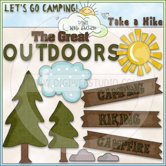 Outdoor clipart great outdoors Outdoors Cheryl Cheryl Clip stamps