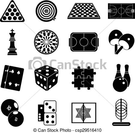 Outdoor clipart indoor game And Games outdoor (80+) And