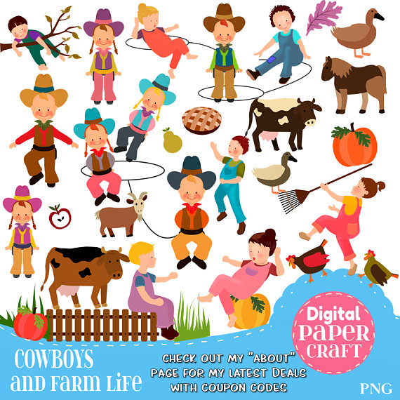 Outdoor clipart life Clipart Cowboy Nature Kids