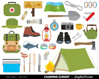 Campfire clipart school camp Personal Camping Use Camping Camping