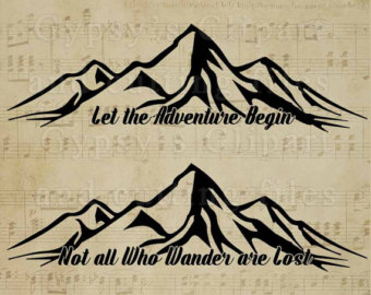 Outdoor clipart mountain hiking Adventure Who Lost Wander Hiking