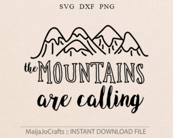 Outdoor clipart mountain hiking The Outdoors SVG Png Vector