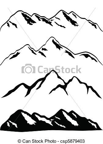 Mountain clipart mountain peak With Various ideas Vectors Best