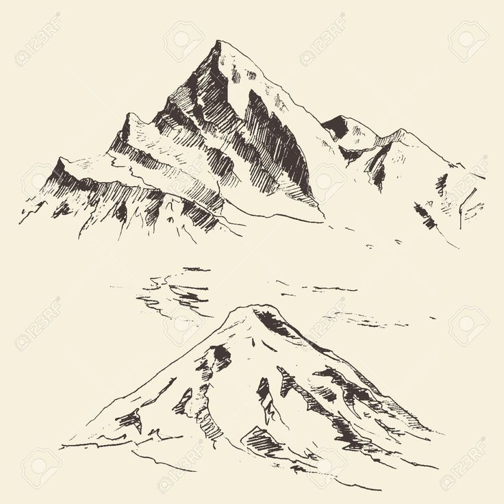 Alps clipart mountain sketch Mountain 20+ Best Google sketch