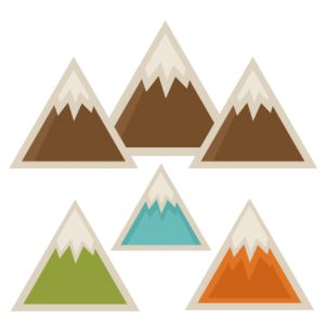 Mountain clipart cute #2