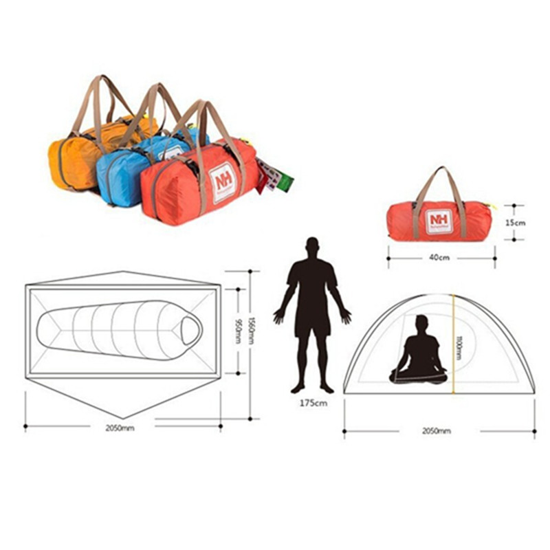 Tent clipart waterproof Tent Naturehike 20D Aliexpress Person