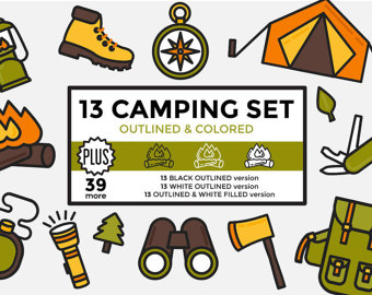 Hiking clipart forgot & Clipart Graphics Camping Vacation