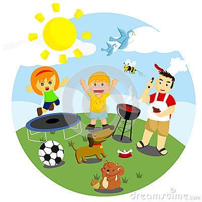 Outdoor clipart outdoor fun  Clipart Outdoor Activities