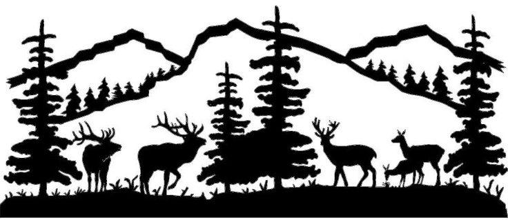 Outdoor clipart outdoor scene Cliparts  clip Download Deer