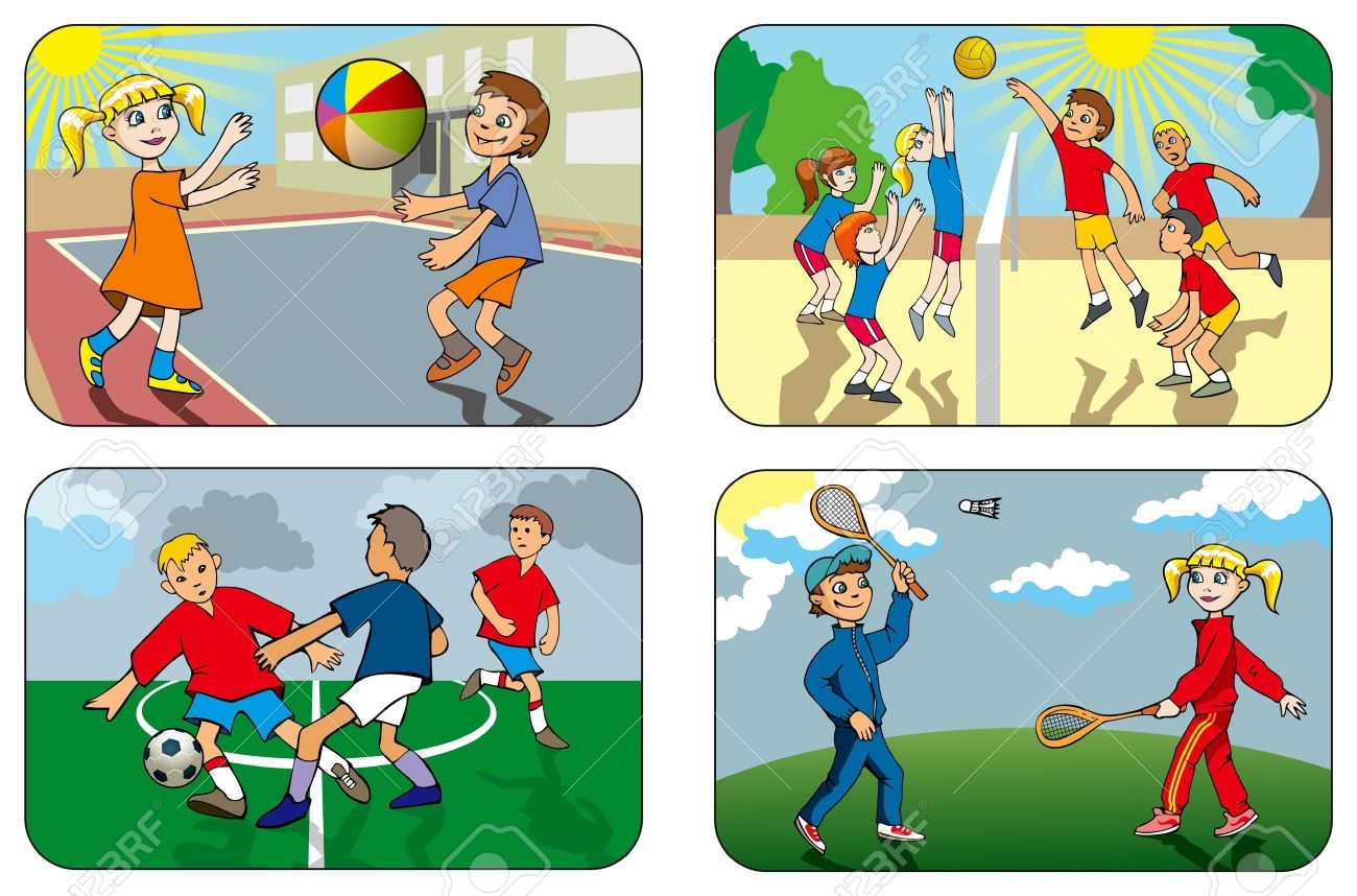Boardwalk clipart outdoor game Games Outdoor Zone Cliparts Cliparts