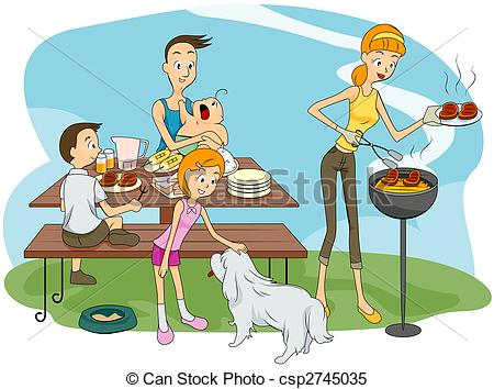 Outdoor clipart outing Outdoor Stock Outdoor Family of