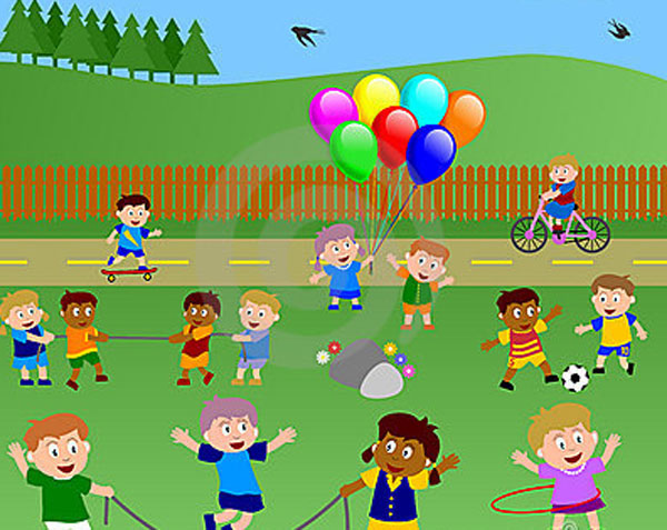 Outdoor clipart pasatiempos Of listening Story prompts out