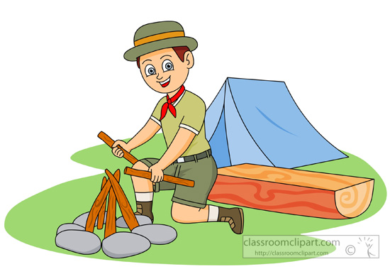 Hiking clipart salute Scout From: fire boy fire