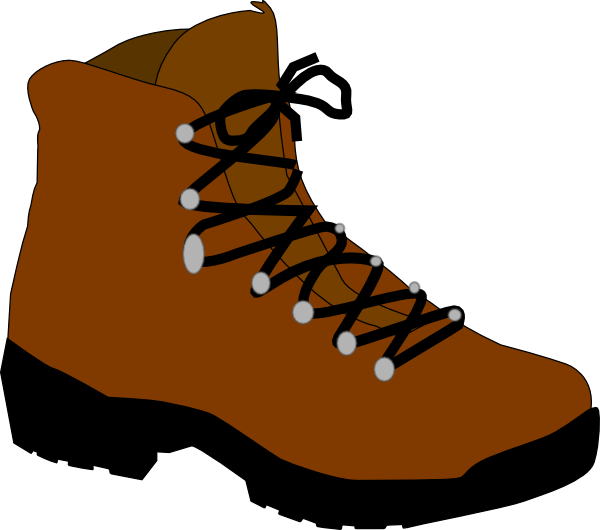 Outdoor clipart walking boot Image at Boot art this