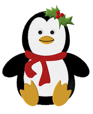 Penguin clipart home Christmas_Penguin_Scrap best Tubes 1 images